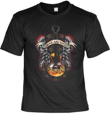 T-Shirt: Rock n Roll Guitar