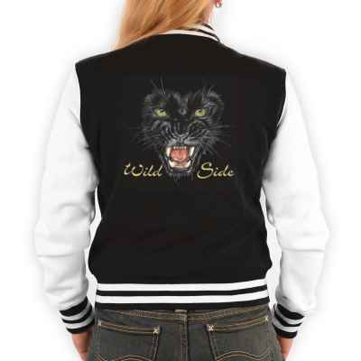 College Jacke Damen: Black Panther - Wild Side