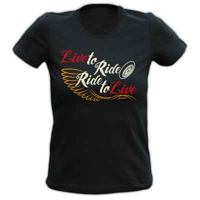 Girlie: Live to Ride - Ride to Live