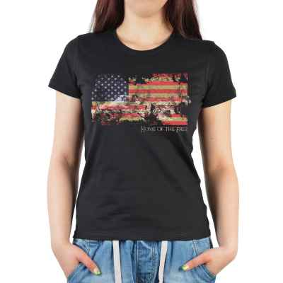 Girlie: American Flag - Home of the Free