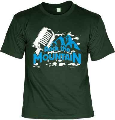 T-Shirt: Rock the Mountain