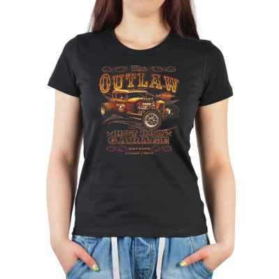 Girlie: The Outlaw - Hod Rod Garage