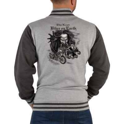 College Jacke Herren: Biker on Earth