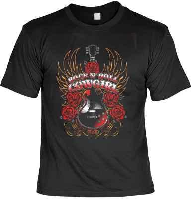 T-Shirt: Rock n Roll Cowgirl