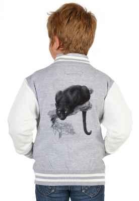 College Jacke Jungen Kinder: Panther