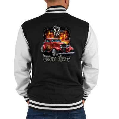 College Jacke Herren: Ford V8 - Wild Ride