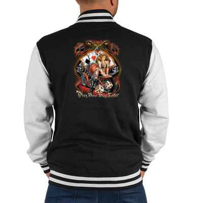 College Jacke Herren: Play now - Play later