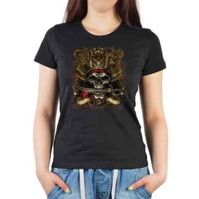 Girlie: Pirat skull vintage style