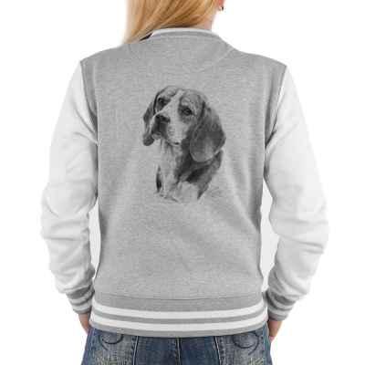 College Jacke Damen: Beagle