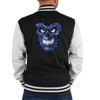 College Jacke Herren: Terminator Skull