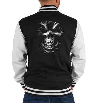 College Jacke Herren: Skull Head