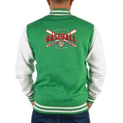 College Jacke Herren: Proberty of Baseball Athletics Division