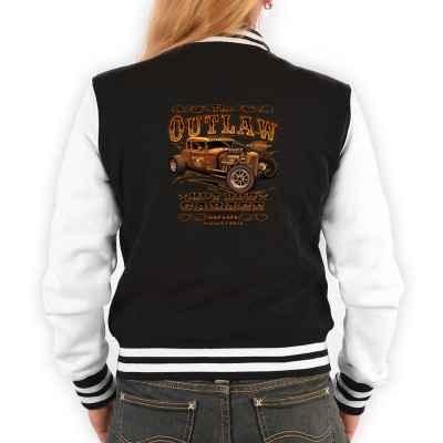 College Jacke Damen: The Outlaw - Hod Rod Garage