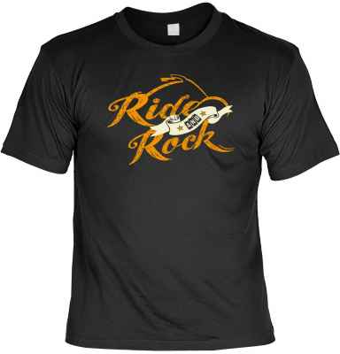 T-Shirt: Ride and Rock