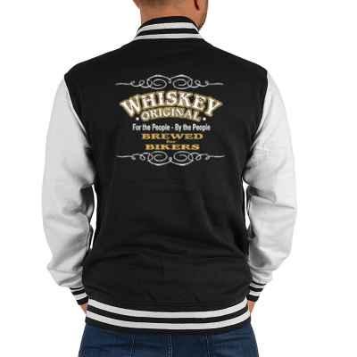College Jacke Herren: Whiskey Original