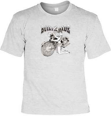 T-Shirt: Pin Up Girl - Built 2 Ride