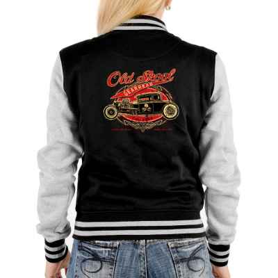 College Jacke Damen: Hod Rod - Old Skool Gearhead