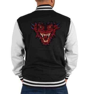 College Jacke Herren: Dragon Head