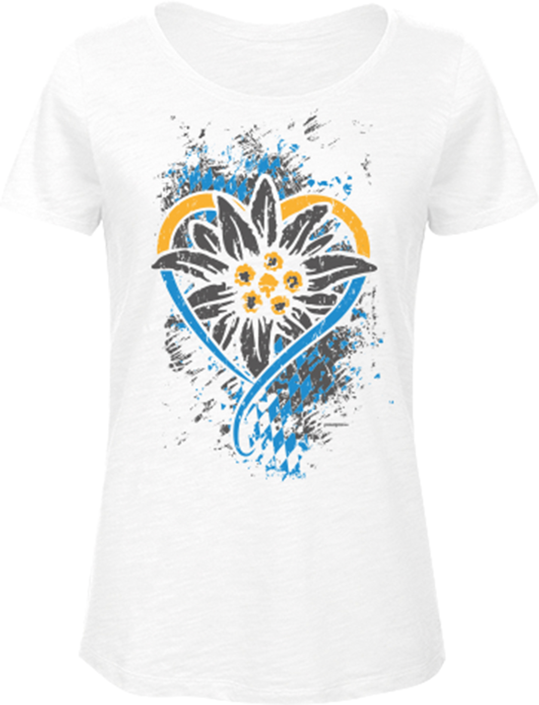 Frauen Trachten T-Shirt Bayern