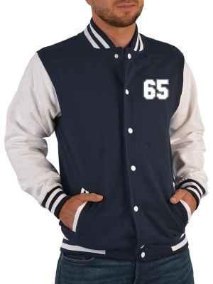 College Jacke Herren: Jacke 65
