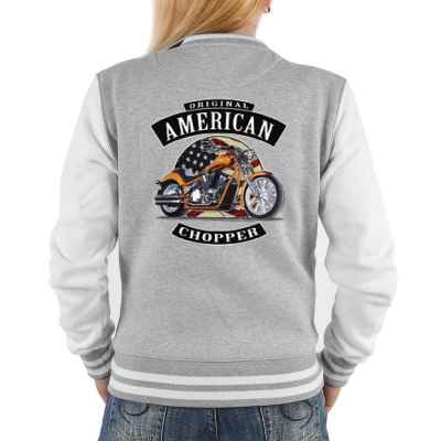 College Jacke Damen: American Chopper