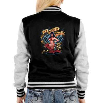 College Jacke Damen: I d Rather be Stroked