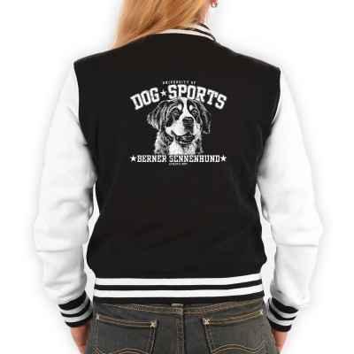College Jacke Damen: Berner Sennenhund