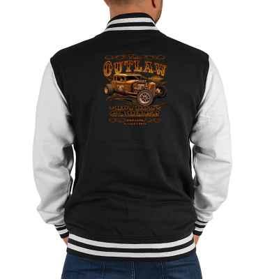College Jacke Herren: The Outlaw - Hod Rod Garage