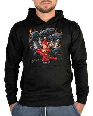 Kapuzensweater: I d rather be stroked - Rockabilly