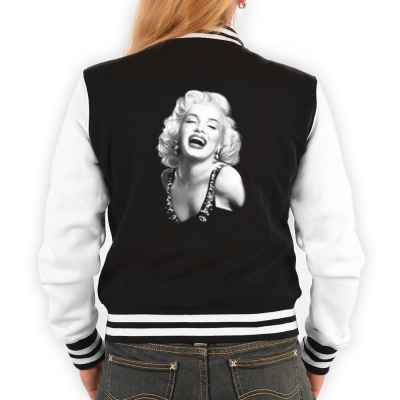 College Jacke Damen: Portrait Marily Monroe